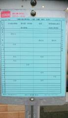 「下亀田」バス停留所