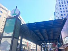 「水道橋駅前」バス停留所
