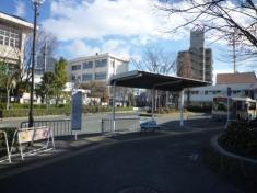 「JR猪名寺」バス停留所