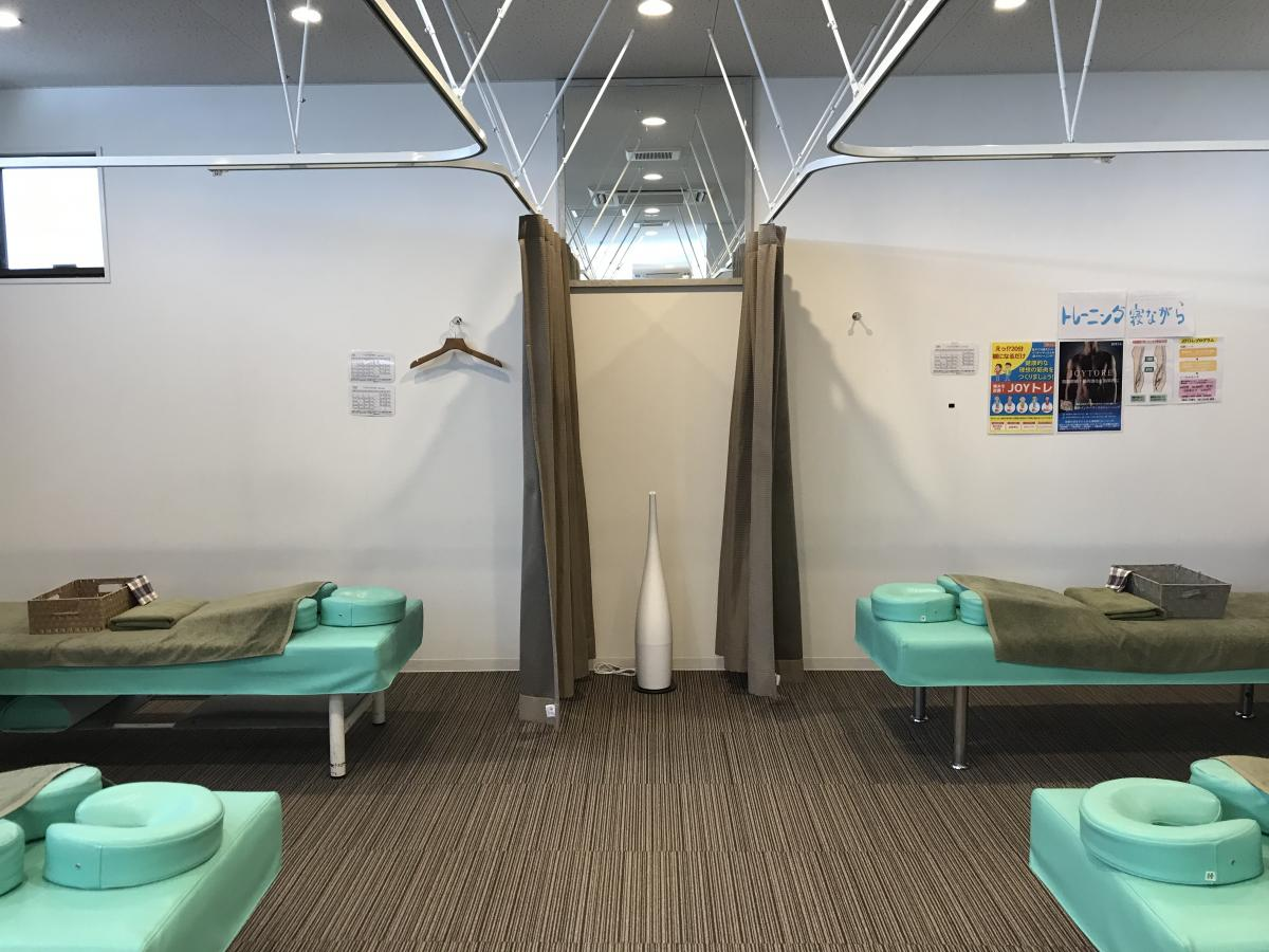 施術スペースの写真です