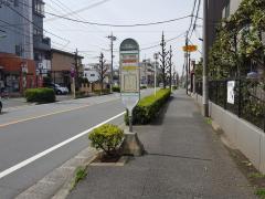 「元郷六丁目郵便局」バス停留所