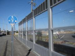 「内部橋」バス停留所