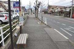 「青山」バス停留所