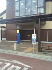 「魚住駅」バス停留所