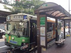 「上野駅前」バス停留所