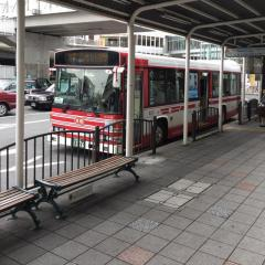 「枚方市駅南口」バス停留所