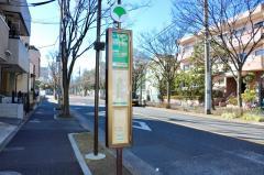 「南葛西会館前」バス停留所