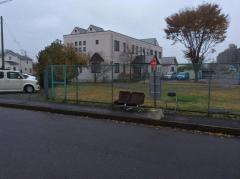 「中法地公園前」バス停留所