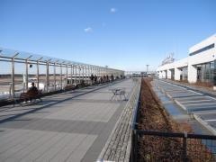 成田国際空港第一ターミナル中央ビル展望デッキ