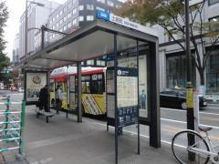 「土居町」バス停留所