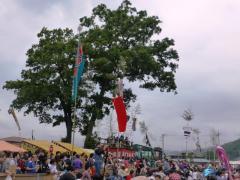 椋神社の龍勢祭り