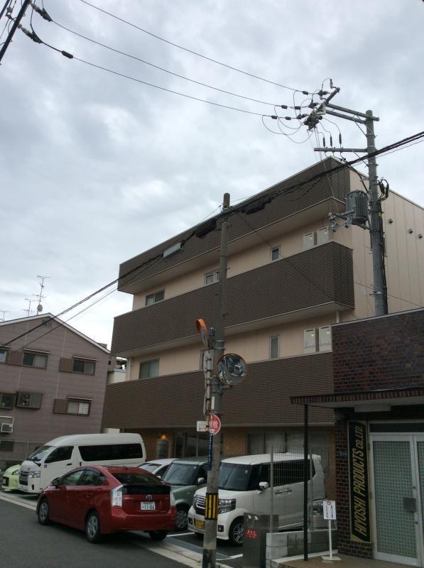 建物外観です。