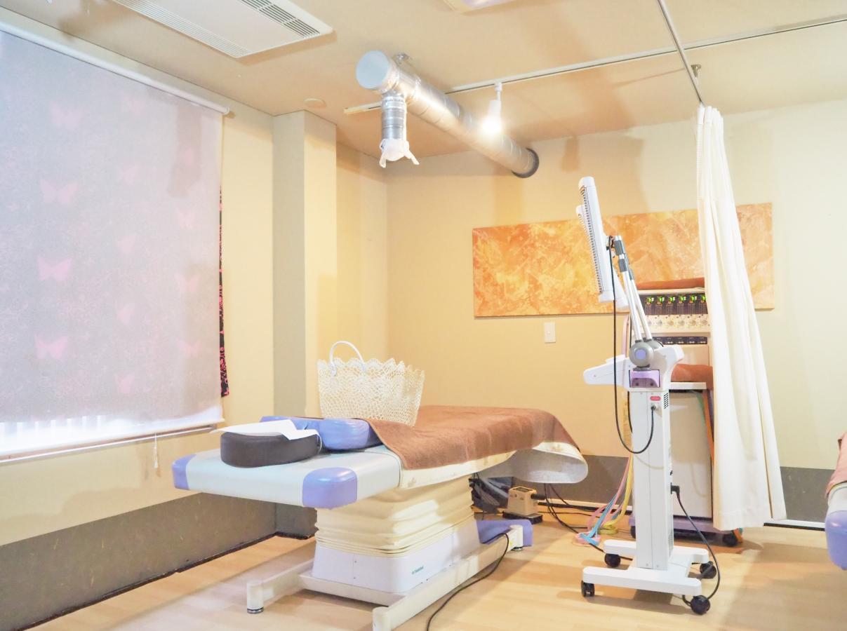チョウ鍼灸整骨院 施術場所