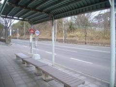 「日赤病院前」バス停留所