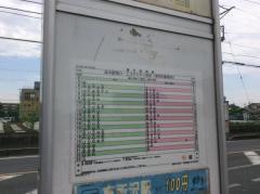 「東所沢駅入口」バス停留所