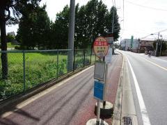 「大森小学校」バス停留所