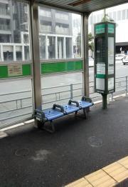 「京阪東口」バス停留所