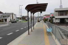 「下手野東口」バス停留所