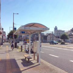 「上町二丁目」バス停留所