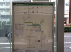 「東新宿保健センター前」バス停留所