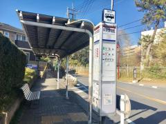 「中央博物館」バス停留所