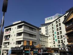 湯畑源泉大東館
