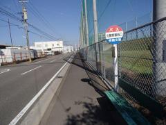 「北警察署西口」バス停留所