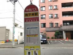 地下鉄南平岸駅_看板