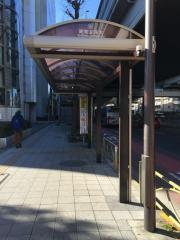 「昭和女子大前」バス停留所