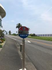 「道の駅フェニックス」バス停留所