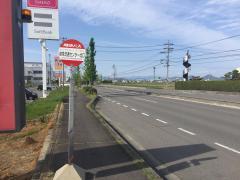 「流通センター北口」バス停留所