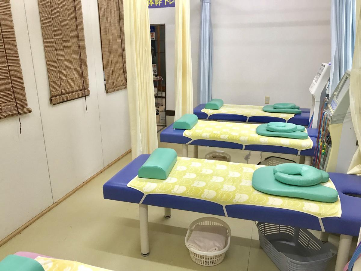 施術スペースの写真