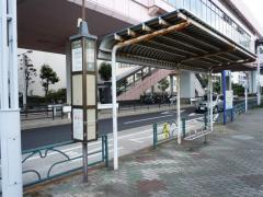 「日の出桟橋」バス停留所