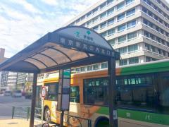 「茅場町」バス停留所