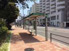 「白金台五丁目」バス停留所