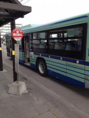 「東四郎丸」バス停留所
