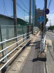 「桑名高前」バス停留所