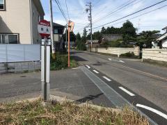 「同島」バス停留所