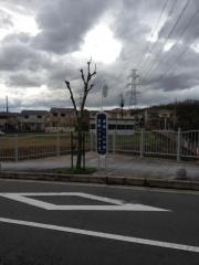 「津田くにみ坂」バス停留所