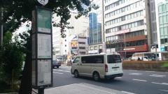 「通り三丁目」バス停留所
