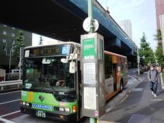 「西麻布」バス停留所