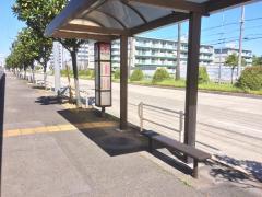 「野跡小学校」バス停留所