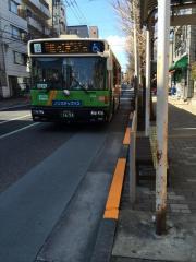 「東洋大学前」バス停留所