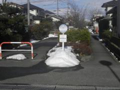 「落合橋入口」バス停留所