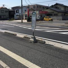 「前川小学校」バス停留所