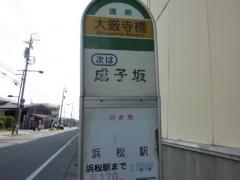 「大厳寺橋」バス停留所