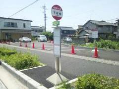 「下岩崎」バス停留所