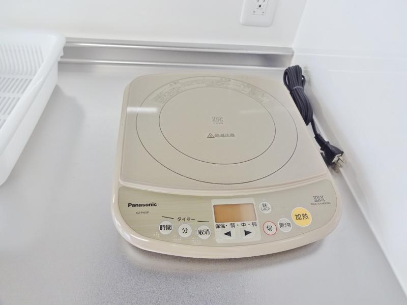 2階談話コーナー 電磁調理器