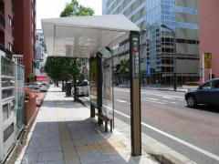 「堤通雨宮町」バス停留所