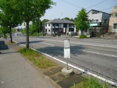 「惣社」バス停留所